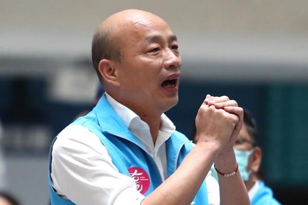 Ousted Kaohsiung Mayor Han Kuo-yu