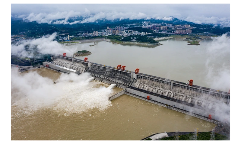 China admits to 'floodwater discharge' from Three Gorges Dam