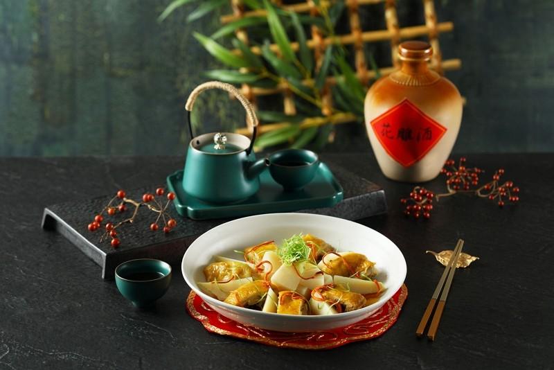 望月樓粵菜餐廳 【新北冠軍綠竹筍 】隆重上桌