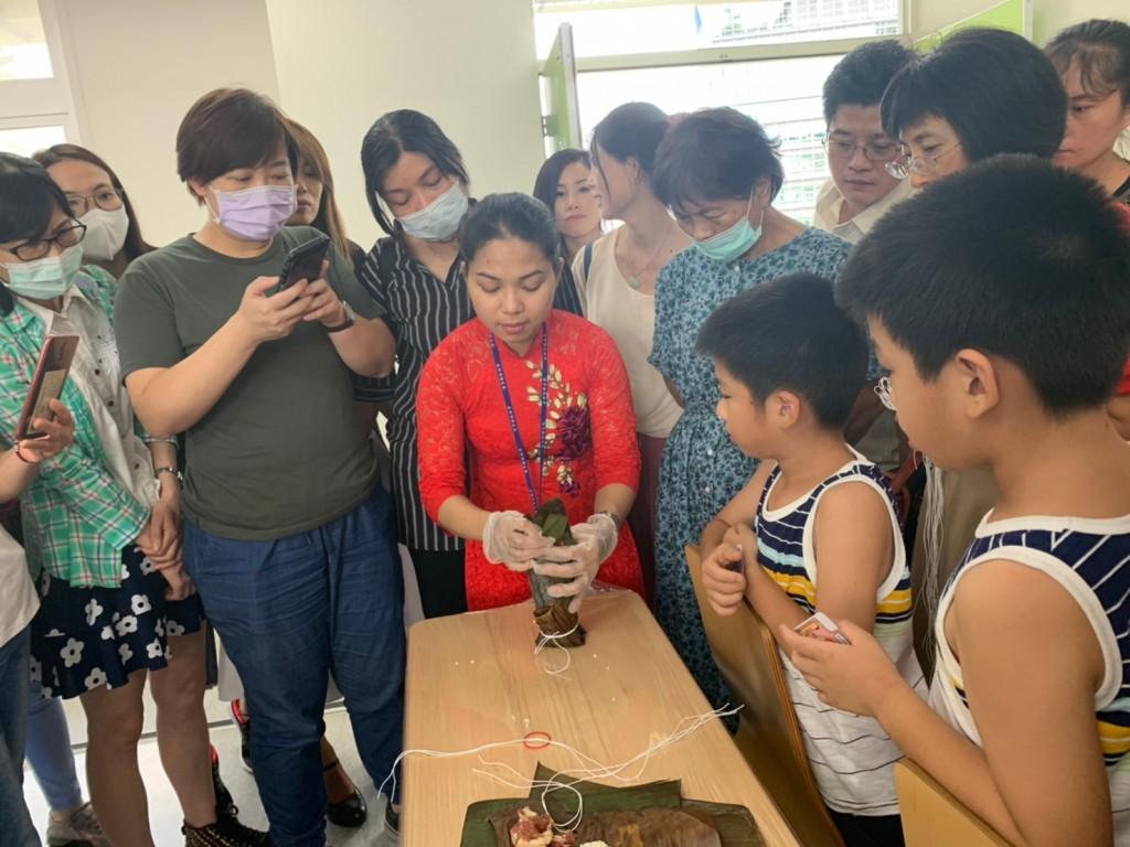 越南粽飄香,中市府舉辦越南創意粽子DIY(翻攝自台中市政府網站)