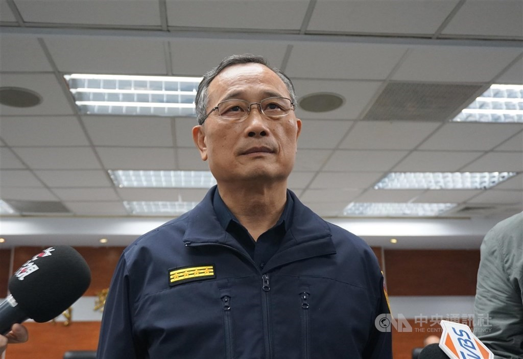 National police chief Chen Chia-chin