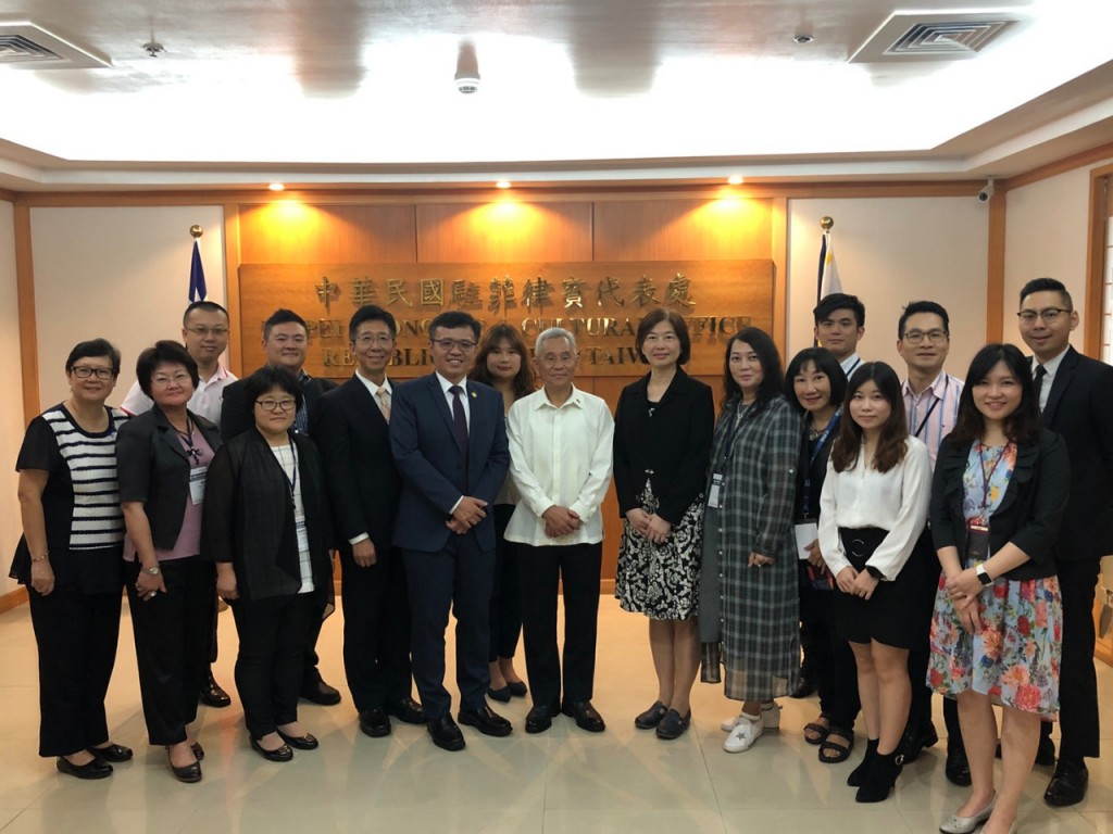 TECO Representative Michael Peiyung Hsu (center). (TECO photo)