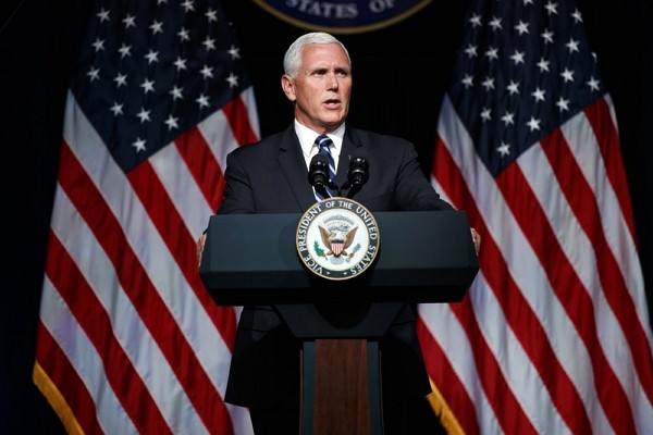 U.S. Vice President Mike Pence.