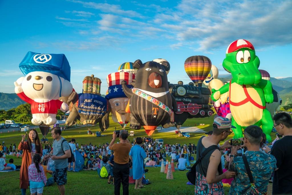 圖片取自台灣熱氣球嘉年華-Taiwan Balloon Festival臉書