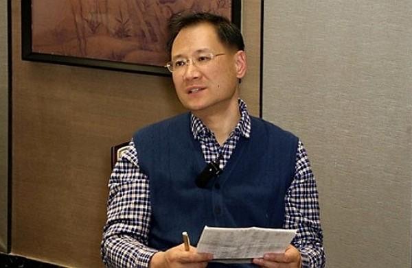 Chinese juristXu Zhangrun detained by Beijing authorities July 6. (Twitter, ZhangZhulin photo)