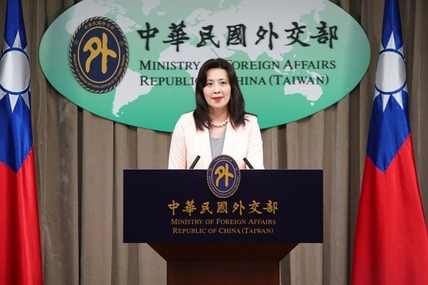 Foreign ministry spokesperson Joanne Ou. (Ministry of Foreign Affairs photo)