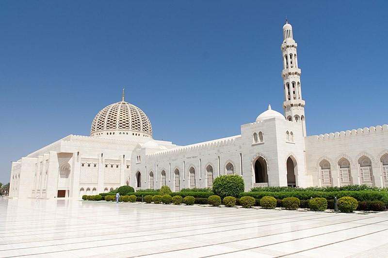 Sultan Qaboos Grand Mosque in Oman.