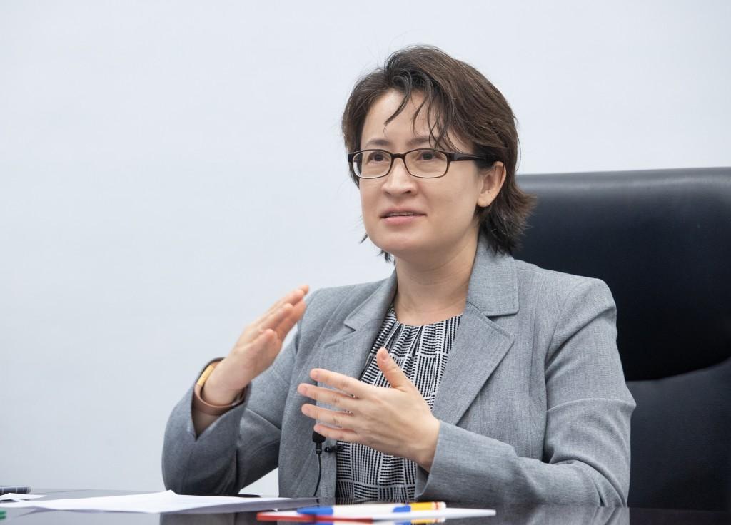 新任駐美代表蕭美琴