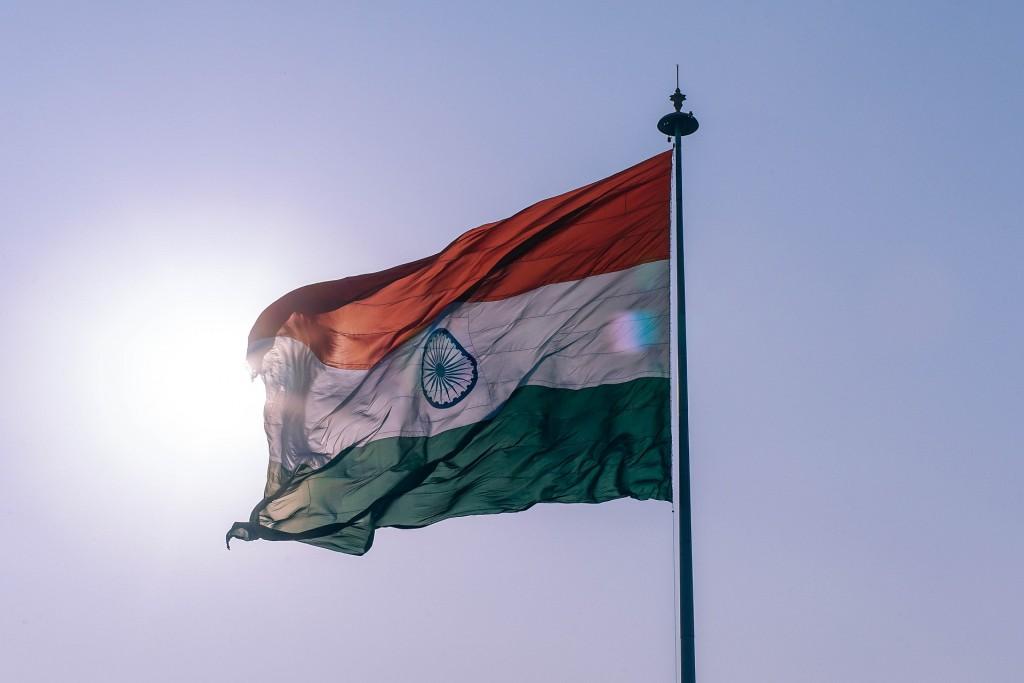 印度國旗(Pixabay圖片)