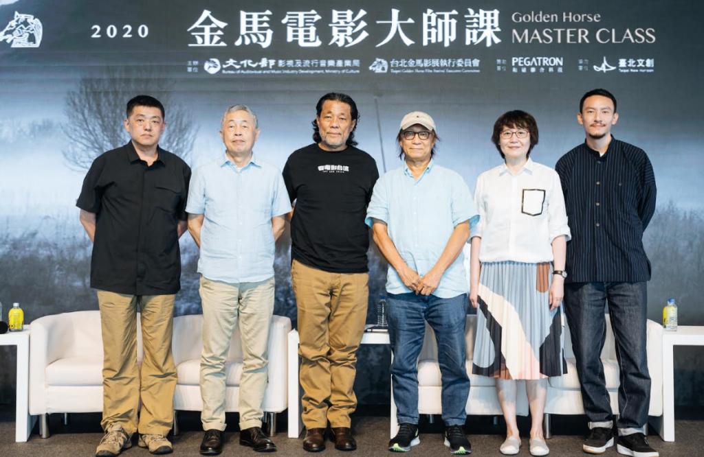 2020金馬電影大師課由6位享譽國際影壇人士組合,將於11月開課(圖/金馬)