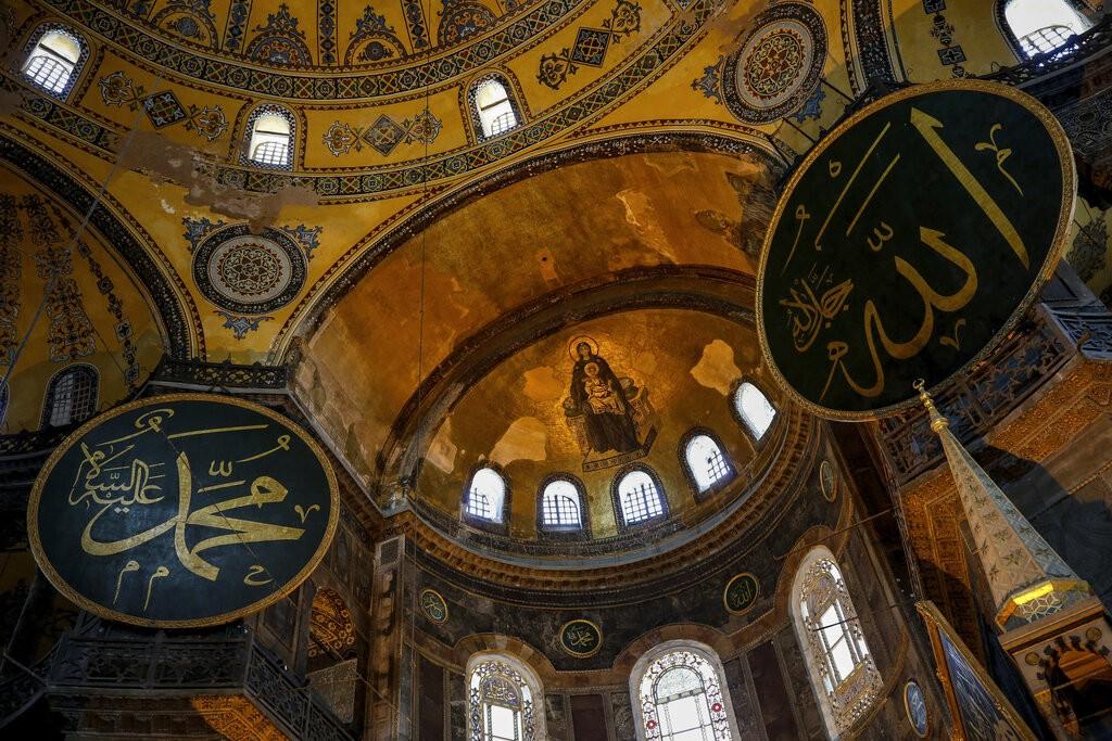 聖索菲亞大教堂。(照片來源:美聯社)