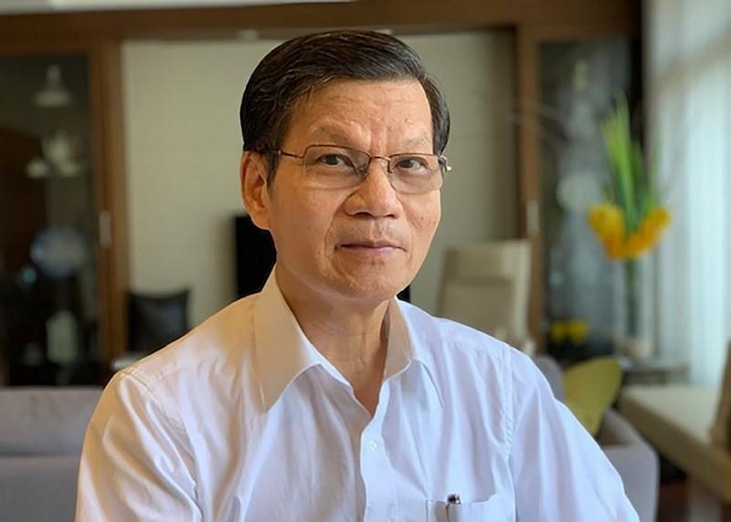 Former Academia Sinica President Wong Chi-huey