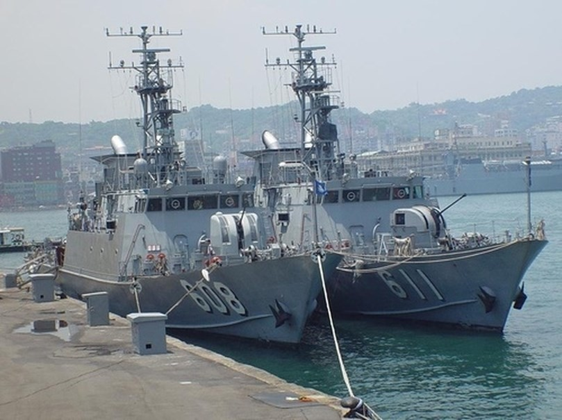Ching Chiang-class patrol ships (CNA photo courtesy of Navy)