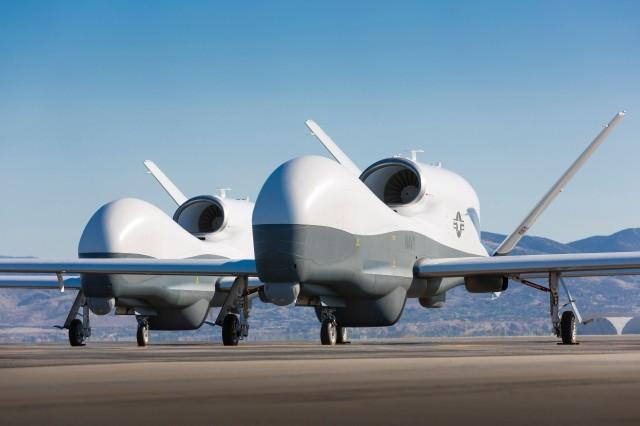 MQ-4C Triton drones. (northropgrumman.com image)