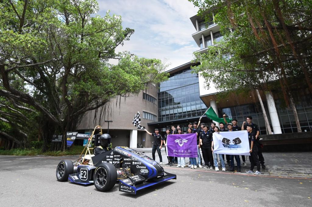 The TH05, ready to race at National Tsing Hua University