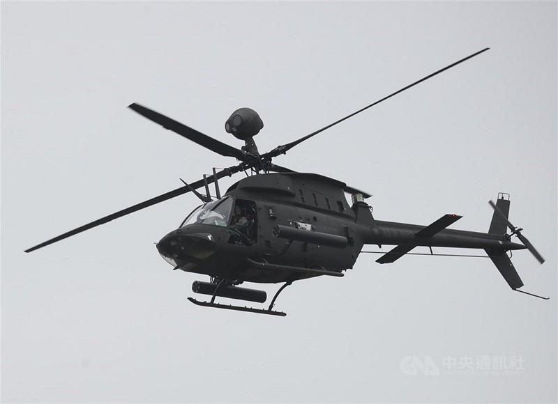OH-58D戰搜直升機同型機 (中央社檔案照)