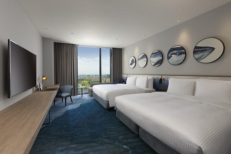 全新國際觀光飯店 COZZI Blu和逸飯店·桃園館 歡慶試營運