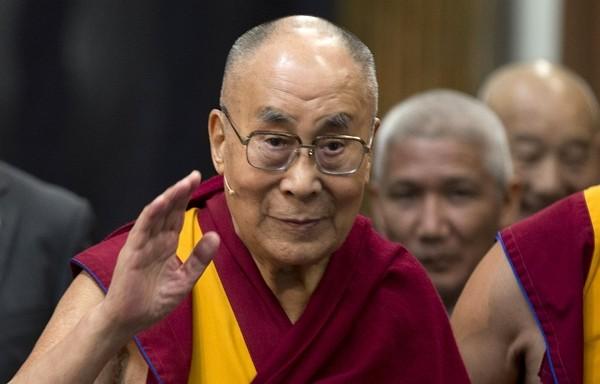 Tibetan leader the Dalai Lama.