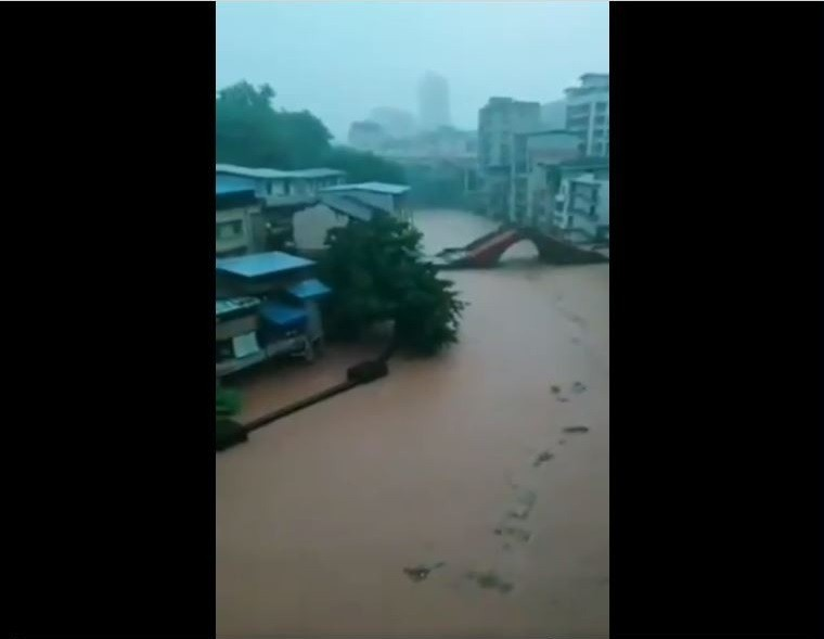 Chongqing's Wanshou District. (Weibo image)