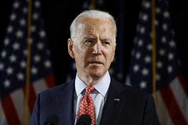 U.S. Democratic presidential candidate Joe Biden.