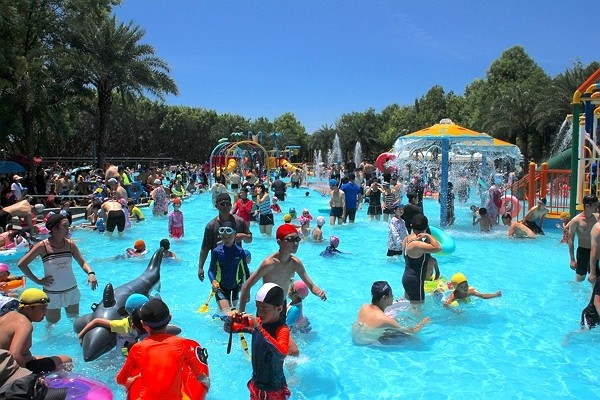 Cikasuan Water Park is offeringfree admission.