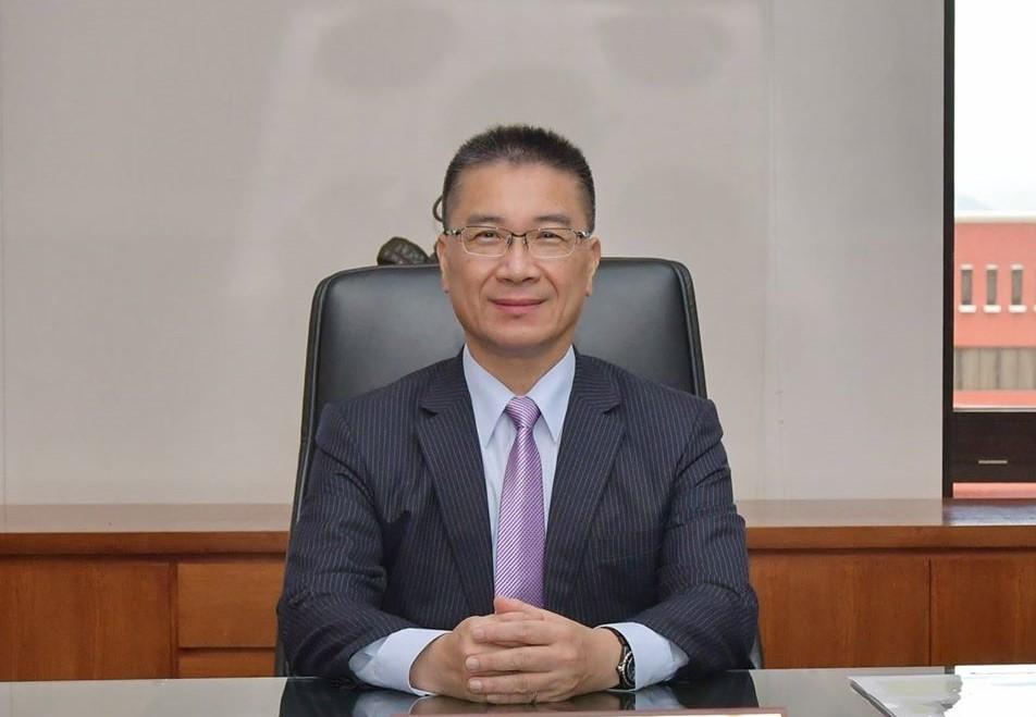 Taiwan's Minister of the Interior Hsu Kuo-yung (Facebook, Hsu Kuo-yung photo)