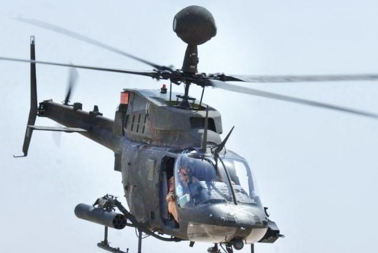 OH-58D Kiowa helicopter (U.S. Army photo)