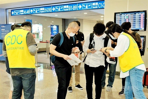 Taiwan CECC calls police on false COVID-19 patient roaming airport report