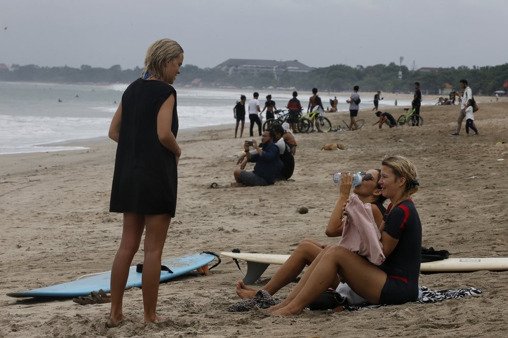 Activities on beaches in Bali were allowed to resume on July 9