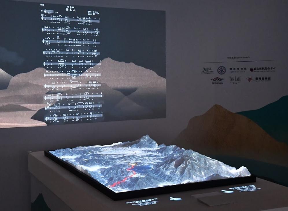 台灣故宮新媒體數位展覽獲美國博物館聯盟繆思獎(圖/故宮)
