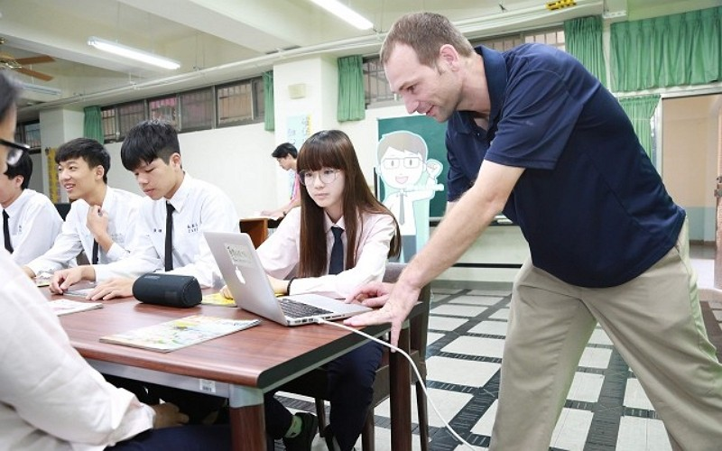 English course in Taiwan (MOE photo)