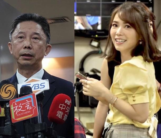 左為周台竹, 右為陳智菡(圖取自中央社檔案照.臉書/TN合成)