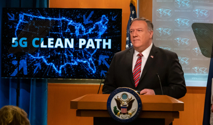 Secretary of State Mike Pompeo (state.gov/5g-clean-networks screenshot)