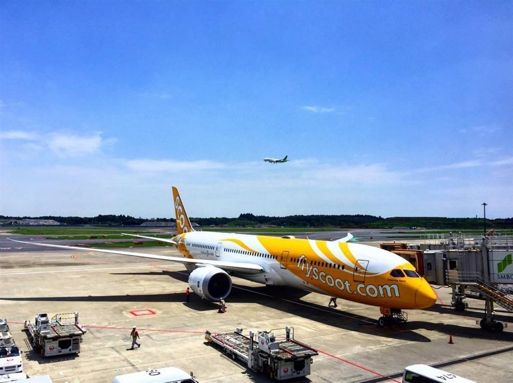 Singaporean carrier Scoot plans to resume flights between Taiwan and Seoul on Aug. 16