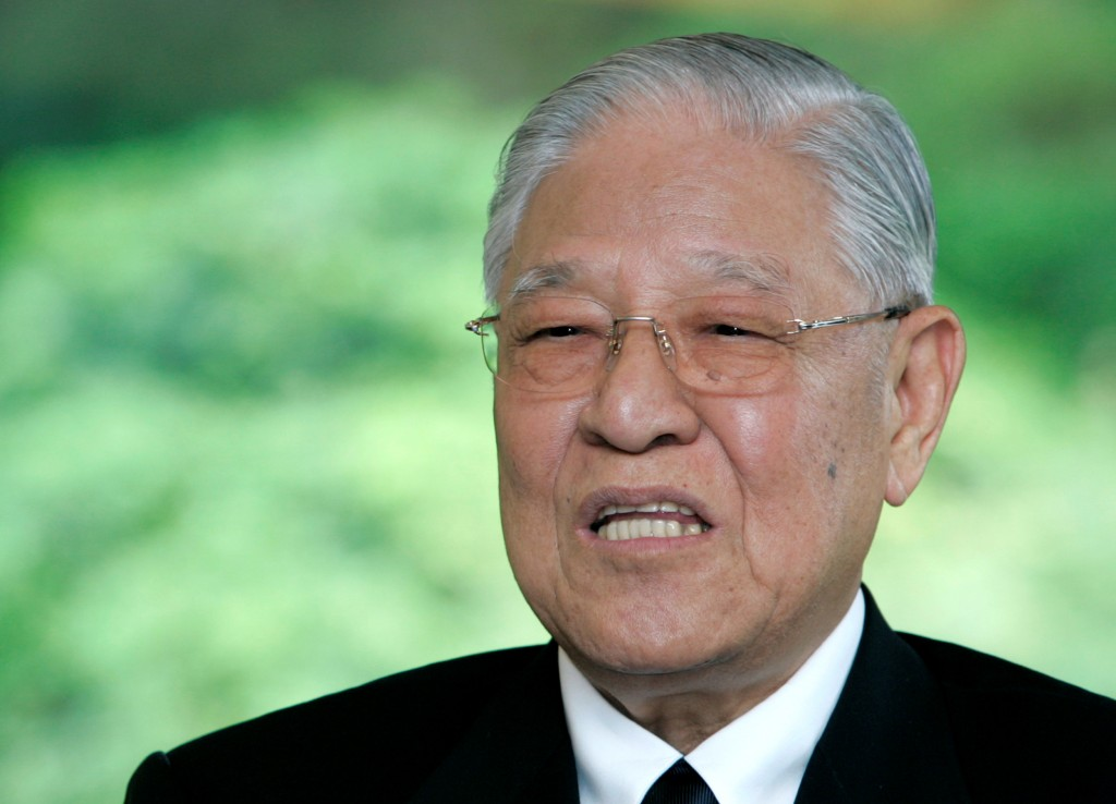 Former President Lee Teng-hui (Reuters photo)
