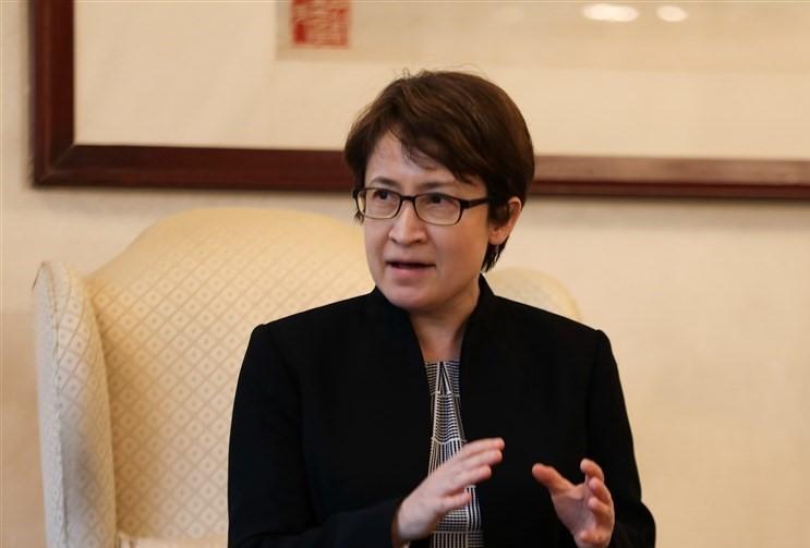 Taiwan's Representative to the U.S. Hsiao Bi-khim.