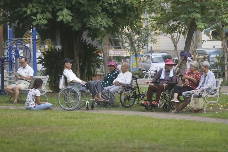 Seniors in Taiwan (CNA photo)