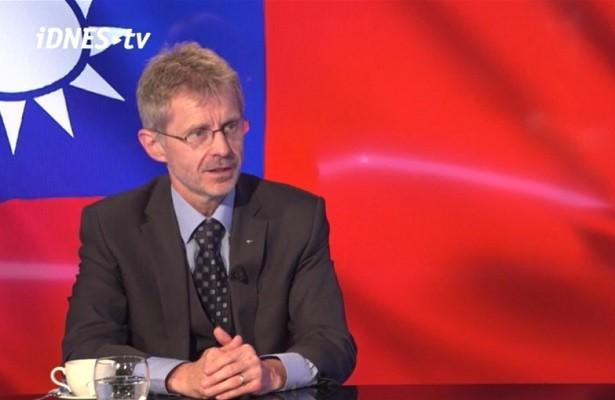 Czech Senate President Milos Vystrcil. (Twitter, SenatCZ photo)