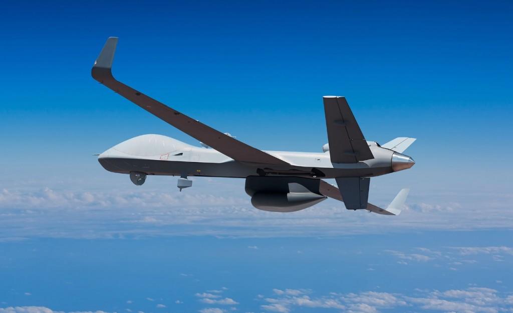 General Atomics MQ-9B SeaGuardian drone (General Atomics website photo)