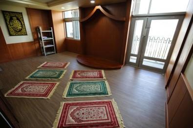 花蓮慈院在院區內設置兩間清真友善祈禱室(翻攝自花蓮慈濟醫院網站)