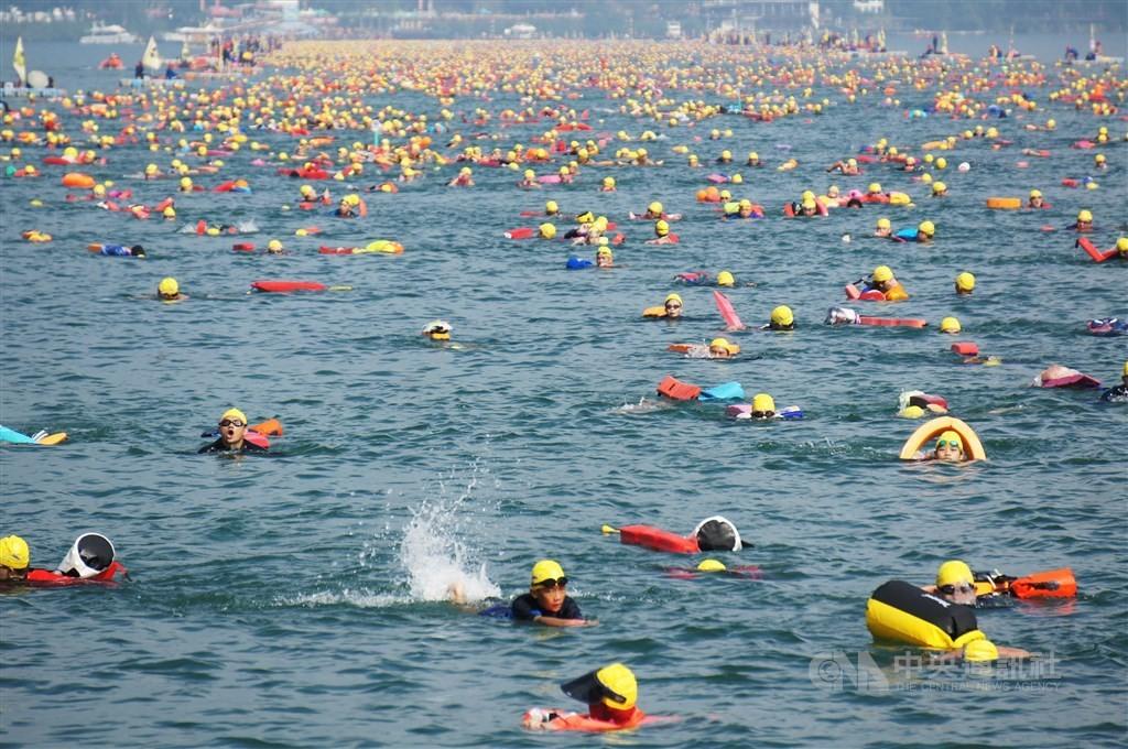 The Sept. 27 Sun Moon Lake swim might be reconsidered if the coronavirus pandemic worsens