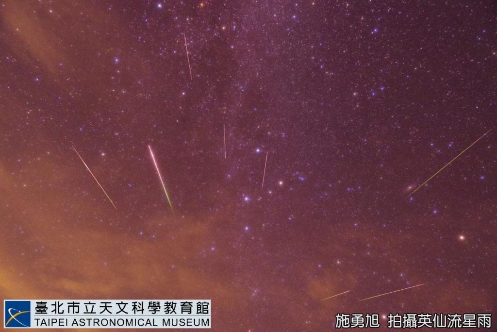 英仙座流星雨12日達極大期 全台灣高山或外島都能觀賞