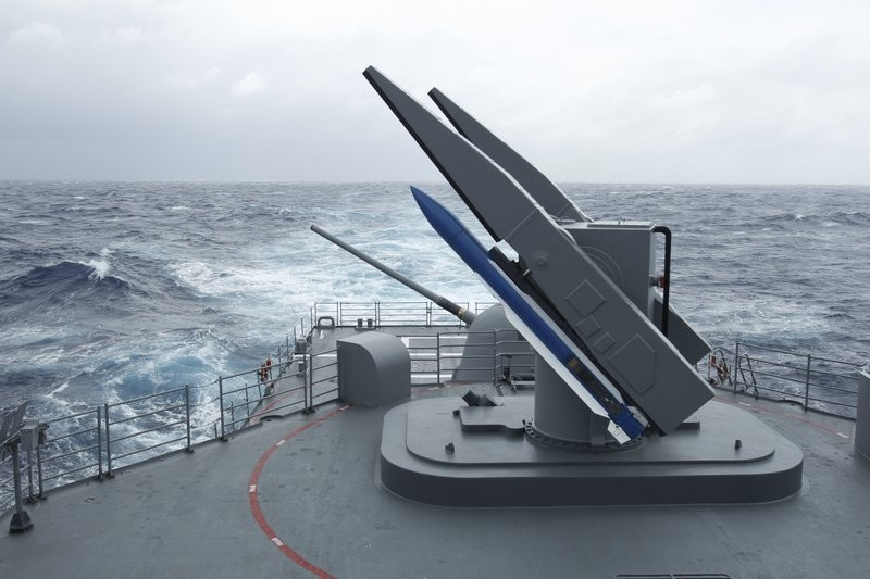 Asurface-to-air missile system in Taiwan