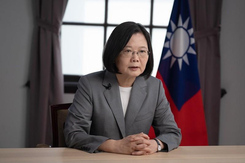 President Tsai Ing-wen. (Presidential Office photo)