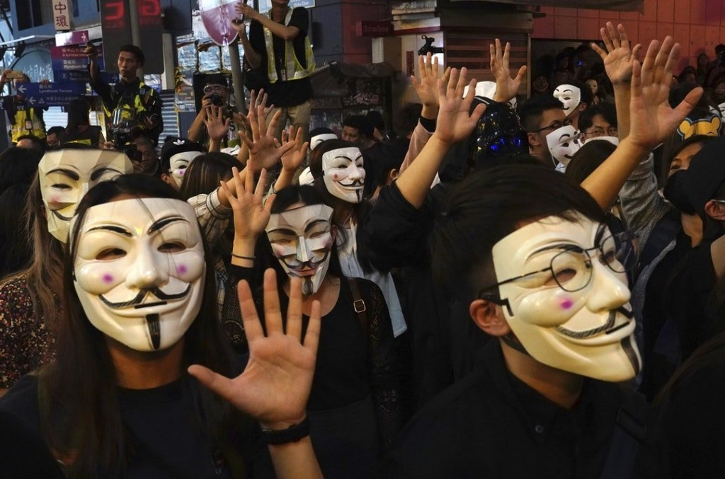 V For Vendetta Pulled In China Taiwan News 2020 08 18
