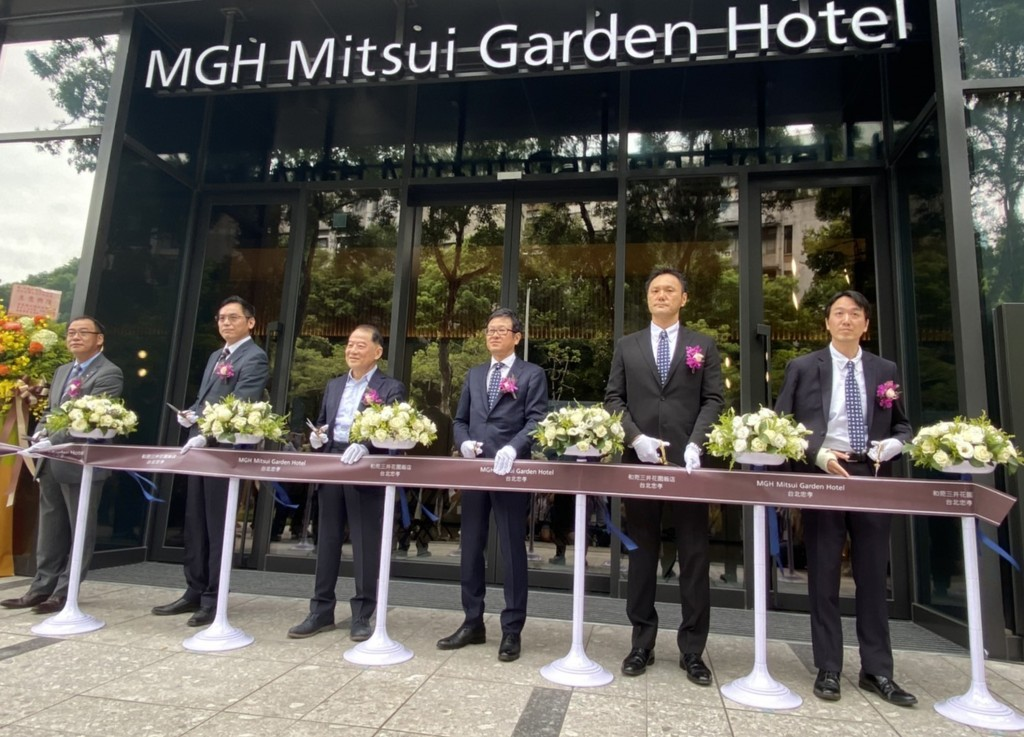 A Japanese group launched the Mitsui Garden Hotel in Taipei City Tuesday Aug. 18