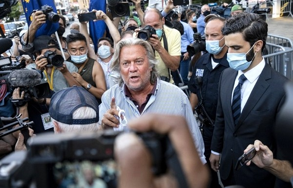 U.S. President Donald Trump's former chief strategist Steve Bannonpleads not guilty to charges that he ripped off donors to an online fundra...