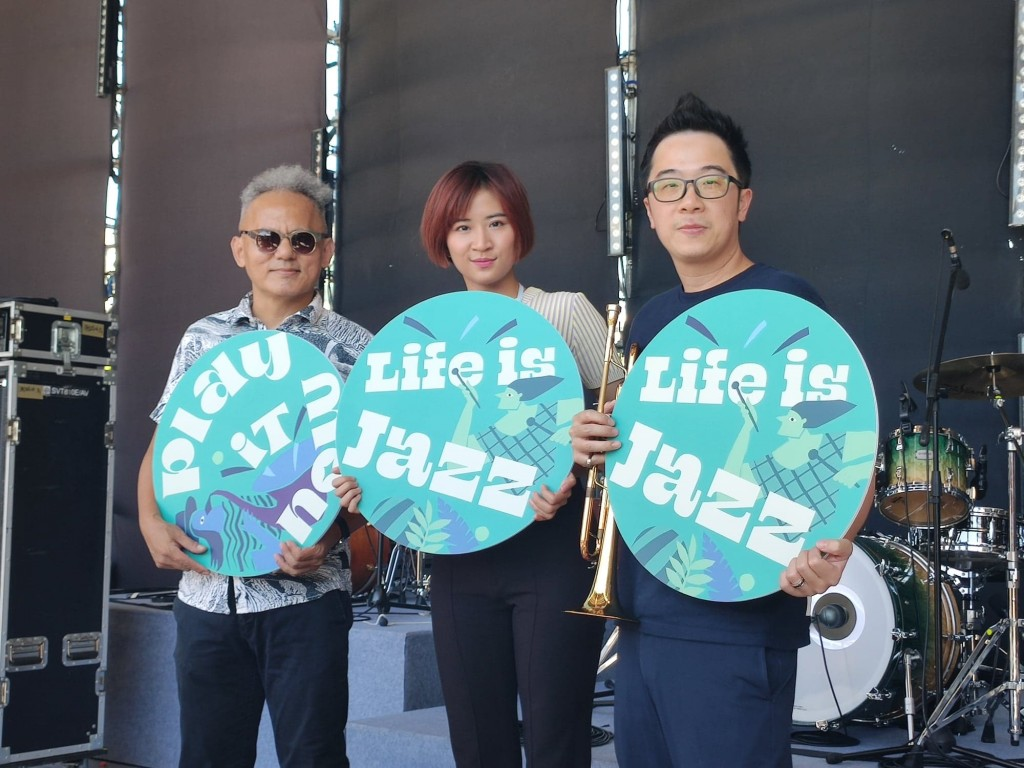 NTCH Summer Jazz Outdoor Party with Yabu Mona, 9m88, and Stacey Wei. (Taiwan News photo)