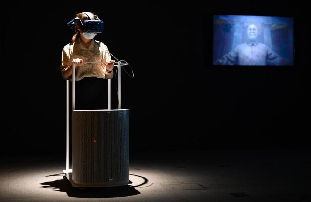 陶亞倫2020最新VR力作個展-「無處不在的幽靈」(圖/台北當代)