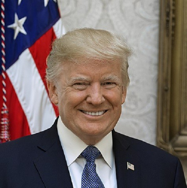 U.S. President Donald Trump (Wikipedia photo)